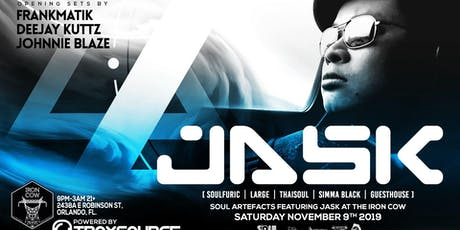 SoulArtefacts presents: JASK at Iron Cow tickets