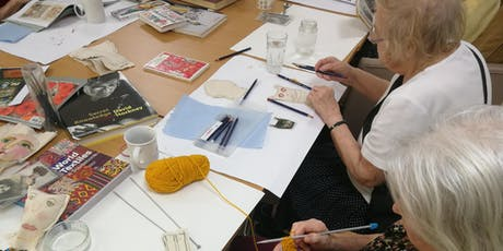 WORKSHOP: Drawing and Making with dementia 07/10/2019 tickets