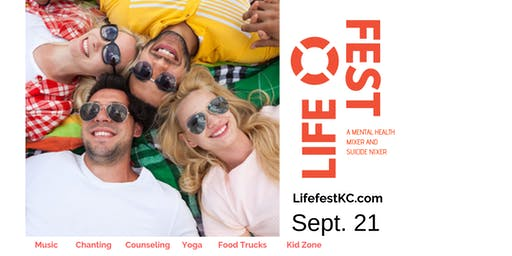 Life Fest: Peace, Love & Zero Suicides