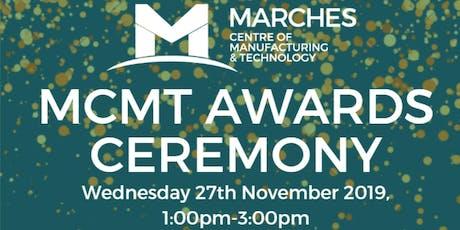 MCMT Apprentice Awards 2019 tickets