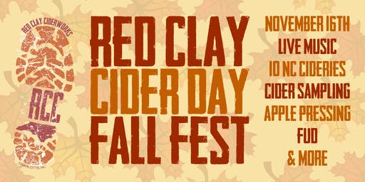 Red Clay Cider Day Fall Fest 2019