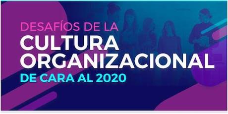 DESAFÍOS DE LA CULTURA ORGANIZACIONAL DE CARA AL 2020 entradas