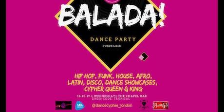 Dance Cypher presents: Balada Party tickets