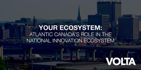 Your Ecosystem: Canada's Innovation Ecosystem tickets