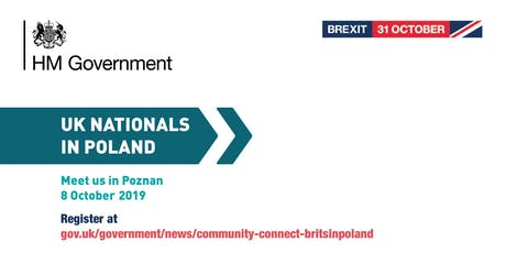 Community Connect - #BritsinPoland | Poznan tickets