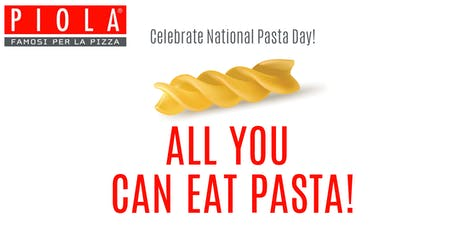 All You Can Eat Pasta Day! tickets