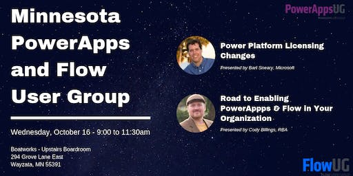 MN PowerApps & Flow User Group Meeting October 2019 - Licensing Changes
