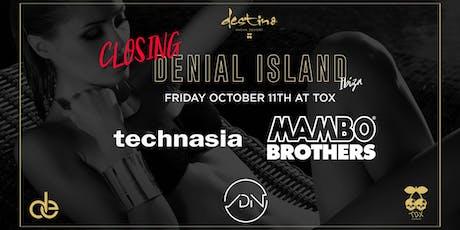 Denial Island Ibiza Closing entradas