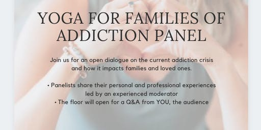 Yoga for Families of Addiction Panel