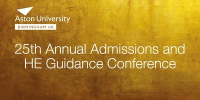 25th Annual Admissions and HE Guidance Conference