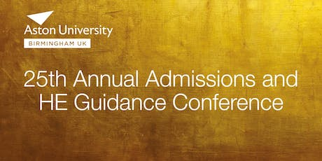 25th Annual Admissions and HE Guidance Conference tickets