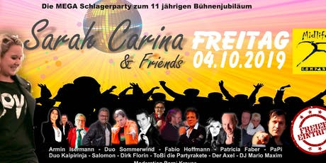 Sarah Carina & Friends Tickets