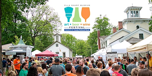 TICKETS for 16th Annual - Art, Beer & Wine Festival Presented by County National Bank