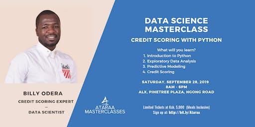 Data Science Masterclass: Credit Scoring with Python