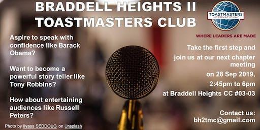 Braddell Heights II Toastmasters Meeting