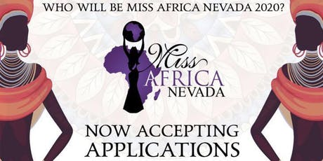 Miss Africa Nevada Auditions and Orientation tickets