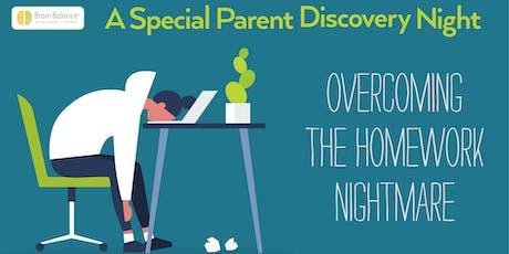 Overcoming the Homework Nightmare Seminar - Brain Balance Henderson tickets