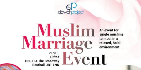 Muslim Marriage Event in Southall tickets