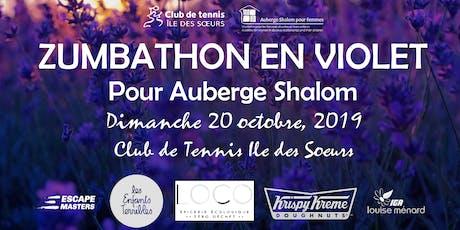Zumbathon en Violet pour Auberge Shalom: 3ieme edition (billets pour enfants) billets