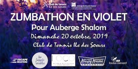 Zumbathon en Violet pour Auberge Shalom: 3ieme edition (billets pour adultes) billets
