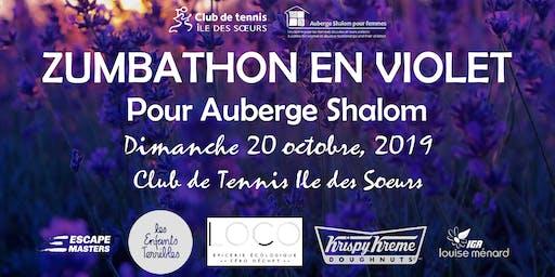 Zumbathon en Violet pour Auberge Shalom: 3ieme edition (billets pour adultes)