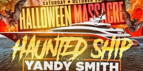 Halloween haunted ship tickets