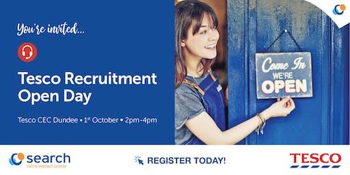 Tesco Recruitment Open Day | Dundee