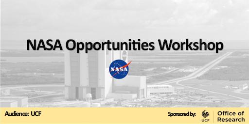 NASA Opportunities Workshop