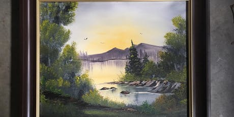 Bob Ross Painting Class: Quiet Cove tickets