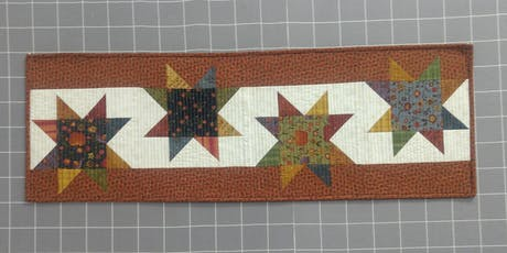 Desert Stars Table Runner with Courtenay tickets