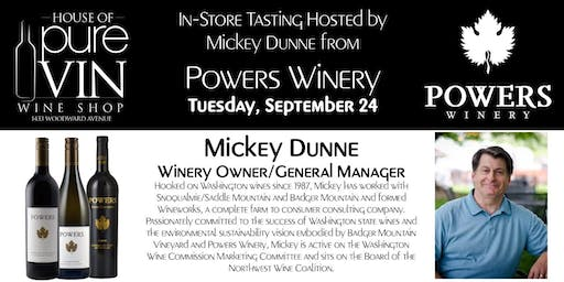 Winemakers Series - Powers Winery with Wineowner M