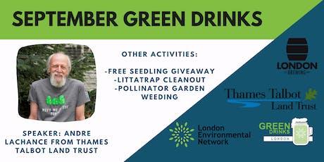 September Green Drinks tickets