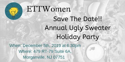ETTWomen Central Jersey: Annual Ugly Sweater Holiday Party- Pot Luck