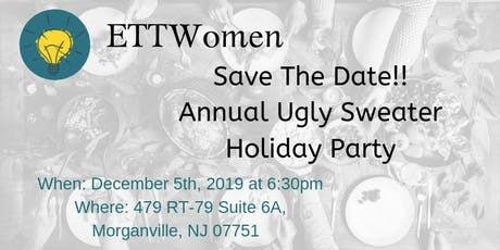 ETTWomen Central Jersey: Annual Ugly Sweater Holiday Party tickets