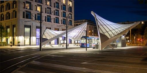 Schwabinger Tor – Neue Beleuchtung für die Außenbereiche