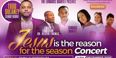Jesus is the Reason 2019 (Edwards Quartet featuring: Todd Dulaney)