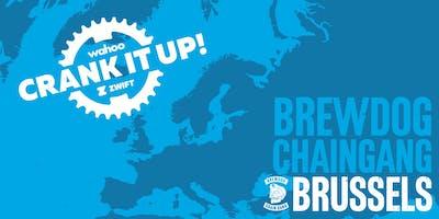 Crank it up! Brussels | Wahoo x Zwift