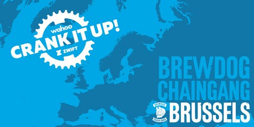 Crank it up! Brussels | Wahoo x Zwift