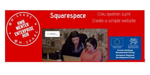 Squarespace - Creu gwefan syml / Create a simple website