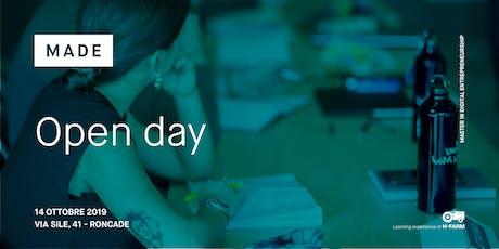 Open Day Master in Digital Entrepreneurship | MADE biglietti