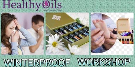 Workshop essentiële oliën Winterproof tickets