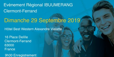 EVENEMENT REGIONAL IBUUMERANG CLERMONT-FERRAND billets