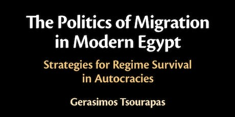 The Politics of Migration in Egypt tickets