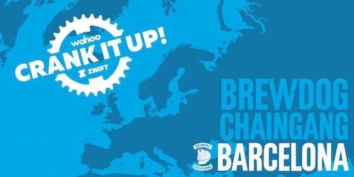 Crank it up! Barcelona | Wahoo x Zwift