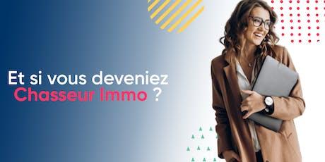 Venez rencontrer l'équipe de Mon Chasseur Immo au salon Paris pour l'Emploi billets