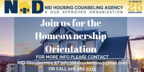 NID-Stoudermire Housing Counseling Orientation tickets