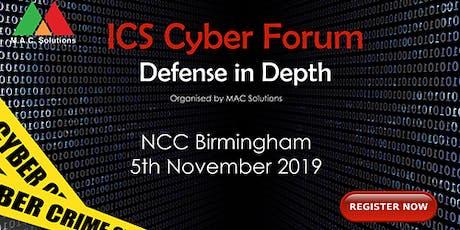 ICS Cyber Forum tickets
