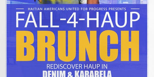 "HAUP Presents ""The Fall-4-HAUP Brunch"""