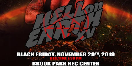 "Absolute Intense Wrestling Presents ""Hell On Earth 15"" tickets"