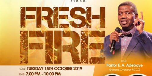 RCCG Workers Rally with the General Overseer (Manchester) Tue 15th Oct 2019